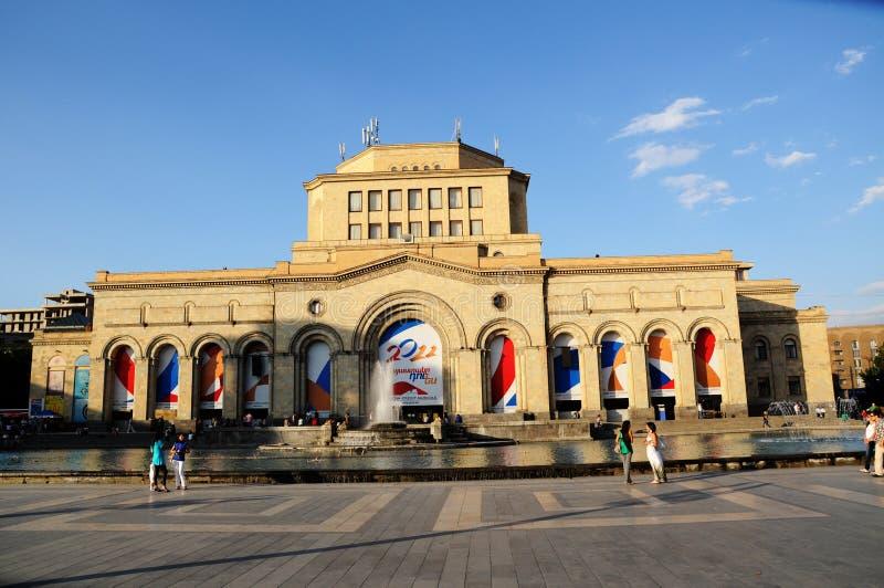 armenia historiemuseum royaltyfri foto