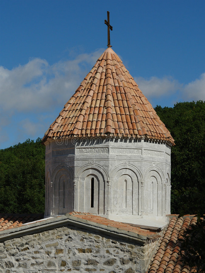 The Armenian church royalty free stock photography