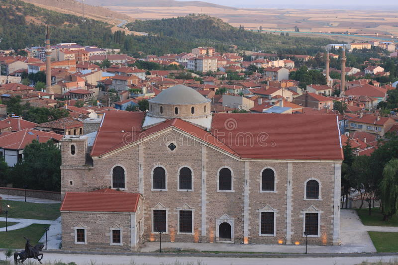 Armenian church is sivrihisar. A history of the Armenian Apostolic Church which is located in EskiÅŸehir Sivrihisar district. Anatolia is known as the second royalty free stock photo