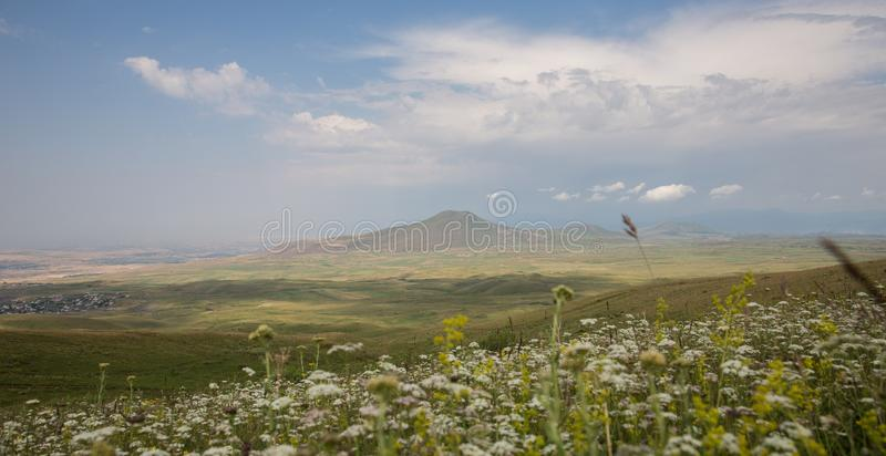 Mountains Wonderful Landscapes in Mountains. Armenian Mountains Geghama Mountains Ararat Mountains Lndscapes in mountains stock photography