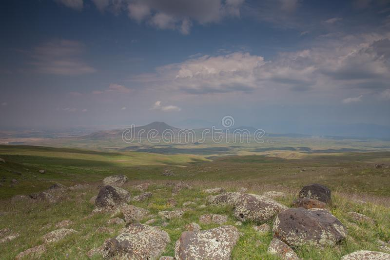 Mountains Wonderful Landscapes in Mountains. Armenian Mountains Geghama Mountains Ararat Mountains Lndscapes in mountains stock photo