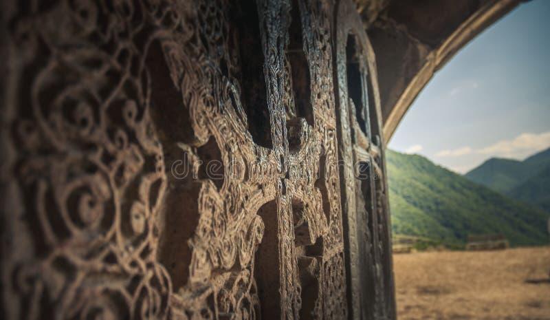 Armenier Crosstone fotografering för bildbyråer