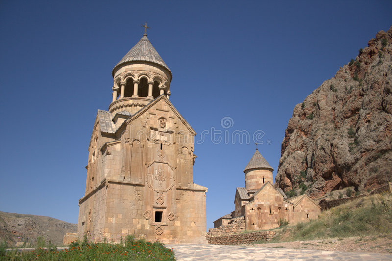 armenierkyrka royaltyfri bild