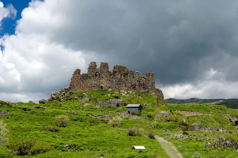 Armenische Festung Amberd lizenzfreie stockfotos