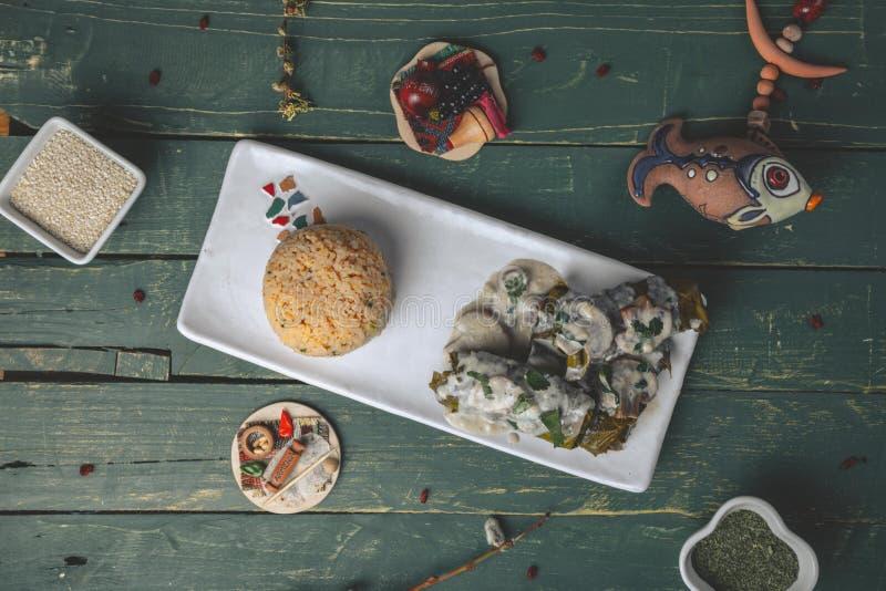 Armenische Küche stockbilder