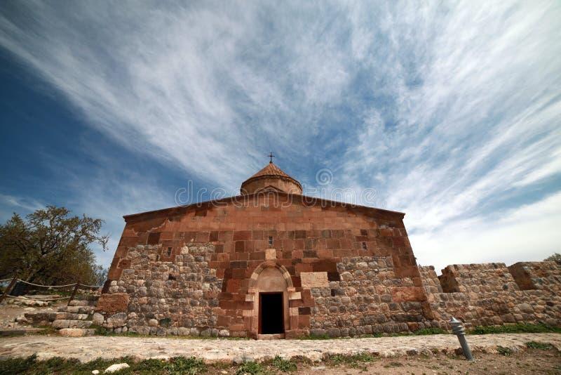 Armenische Kathedrale in Van City, die Türkei lizenzfreie stockfotos