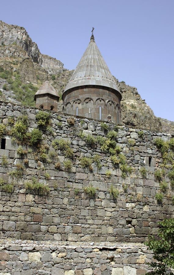 armenisk kloster arkivfoto