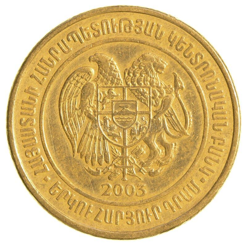 200 armeniska dollar mynt arkivfoto