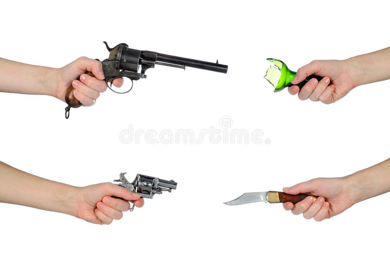 Armes images stock
