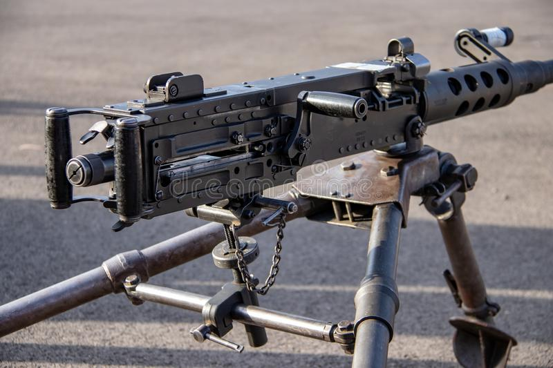 Armes d'infanterie aux marines Facilty des USA en Californie images stock