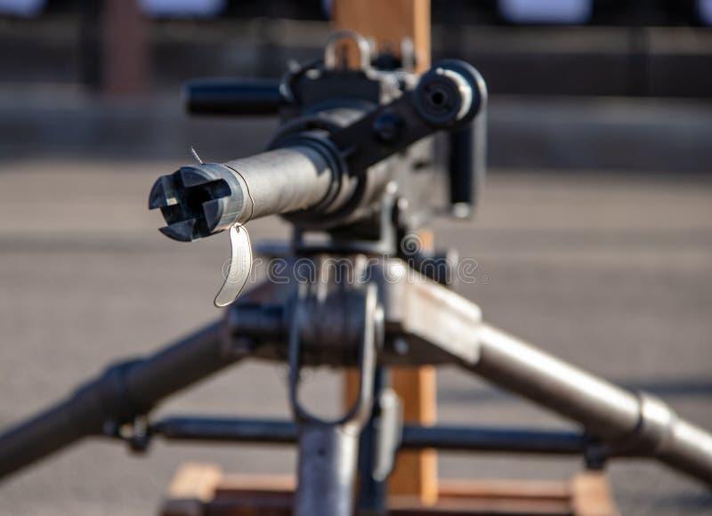 Armes d'infanterie aux marines Facilty des USA en Californie image libre de droits