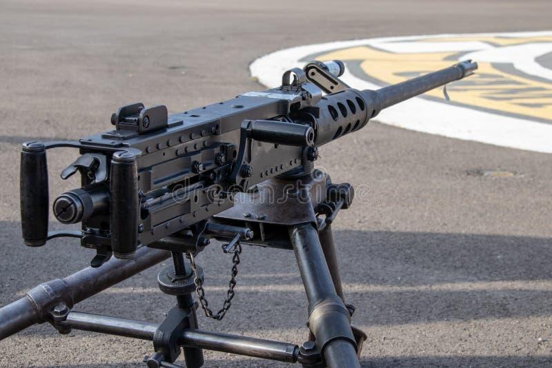 Armes d'infanterie aux marines Facilty des USA en Californie images libres de droits