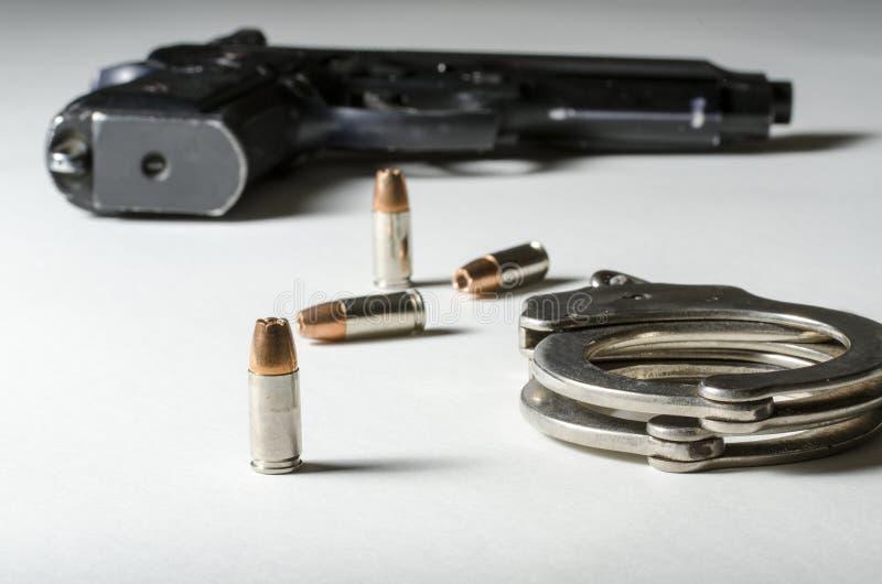 Armes de police images libres de droits