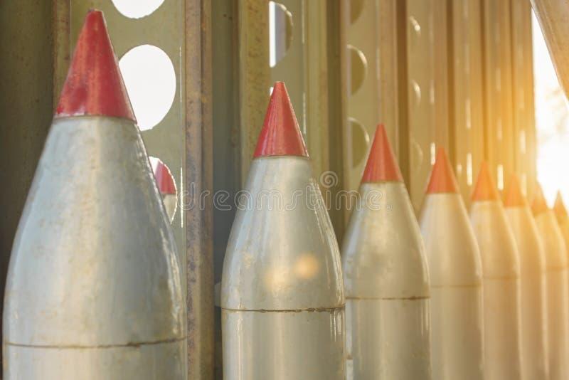 Armi di distruzione di massa fotografia stock libera da diritti