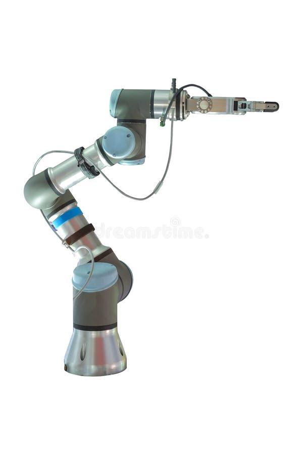 Armi di presa intelligenti dei robot industriali fotografia stock libera da diritti