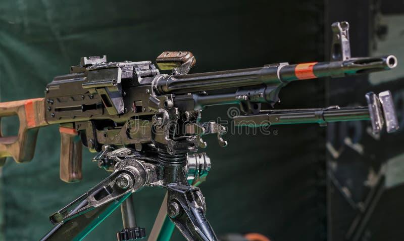 Armi ed attrezzature - mitragliatrice immagine stock