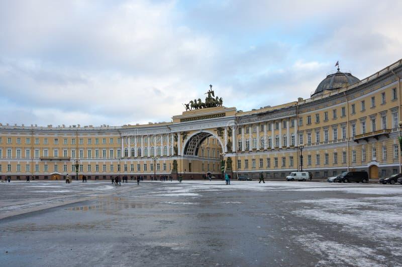 armia budynku sztabu generalnego obraz royalty free
