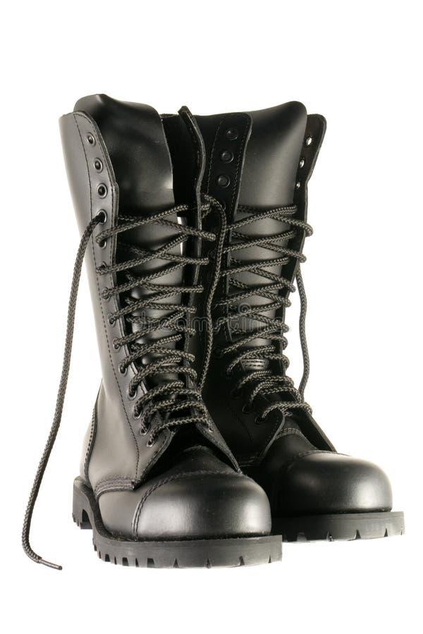 armia czarnych butów obrazy royalty free