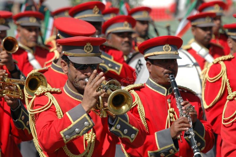 armia Kuwait show fotografia royalty free