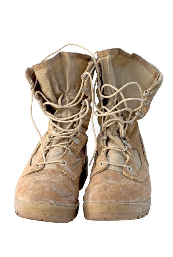 armia wojskowe buty zdjęcie stock