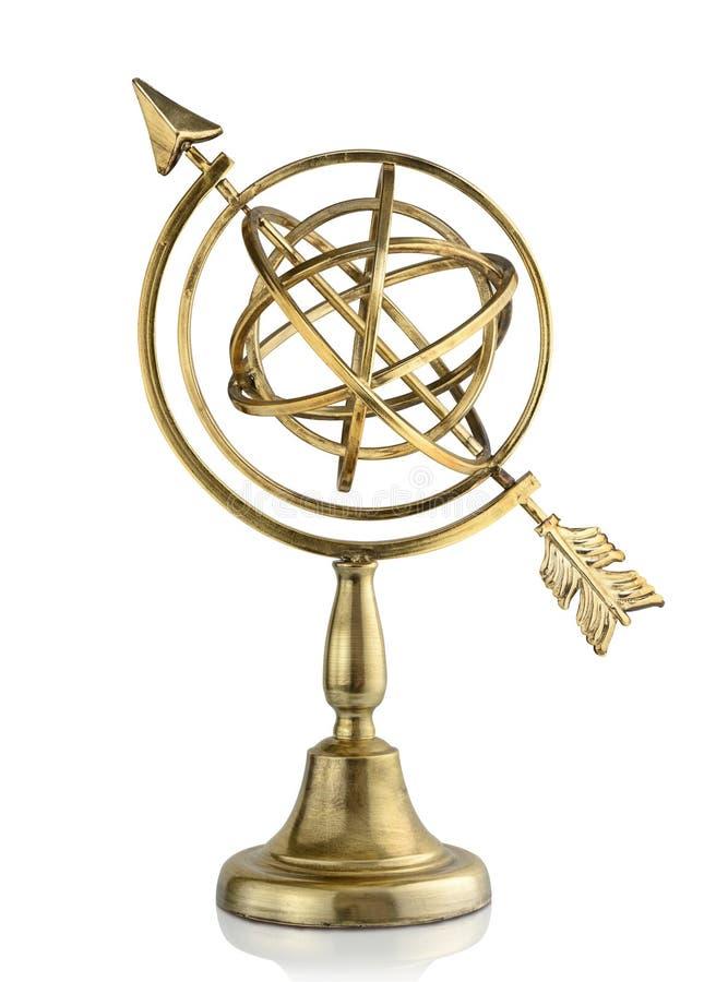 armillary sphere royaltyfri bild