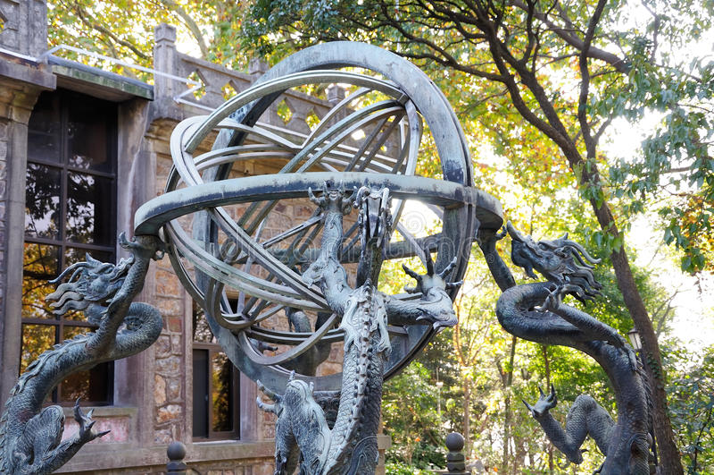 The armillary sphere stock photos
