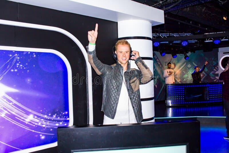 Armin van Buuren royalty-vrije stock foto's