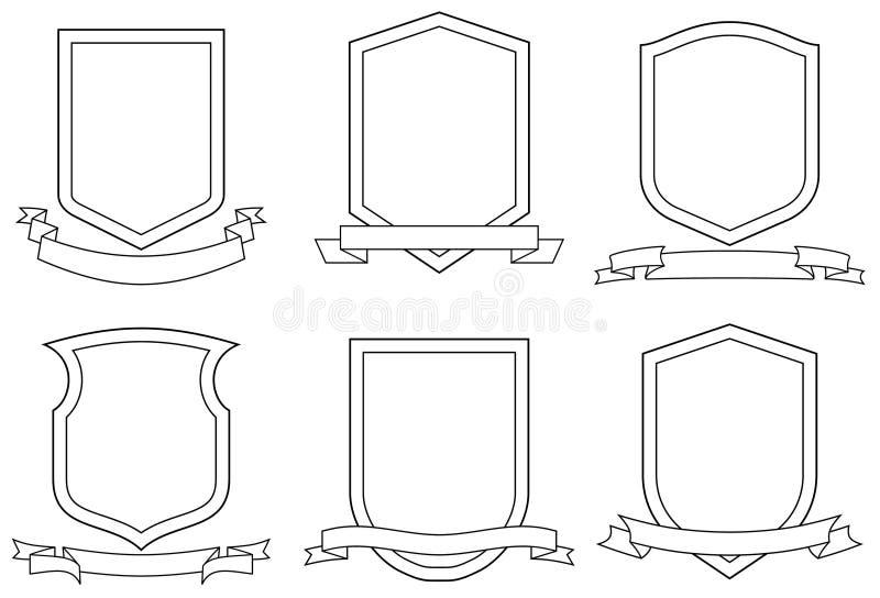 armlag ställde in vektorn stock illustrationer