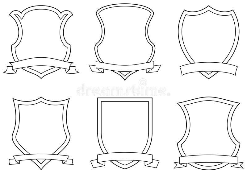 armlagvektor stock illustrationer