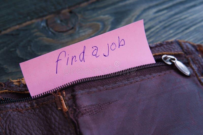 Armod arbetslöshet, konkursbegrepp Gammal sjaskig tom leat royaltyfria foton