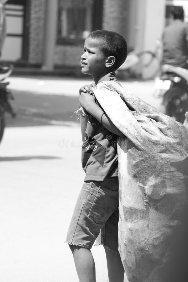 armoede stock foto