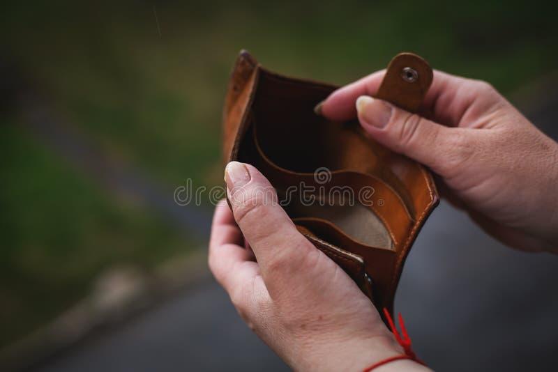 Armoedeconcept stock afbeeldingen