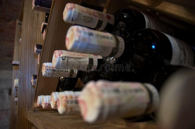 Armoire de vin image stock