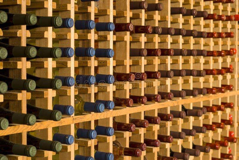 Armoire de vin photo stock