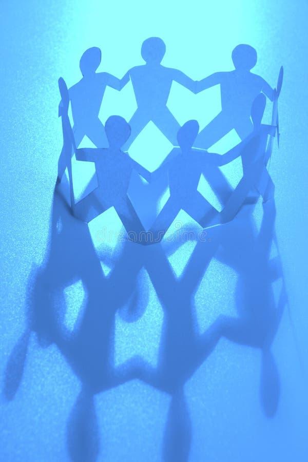 Armonía azul fotos de archivo