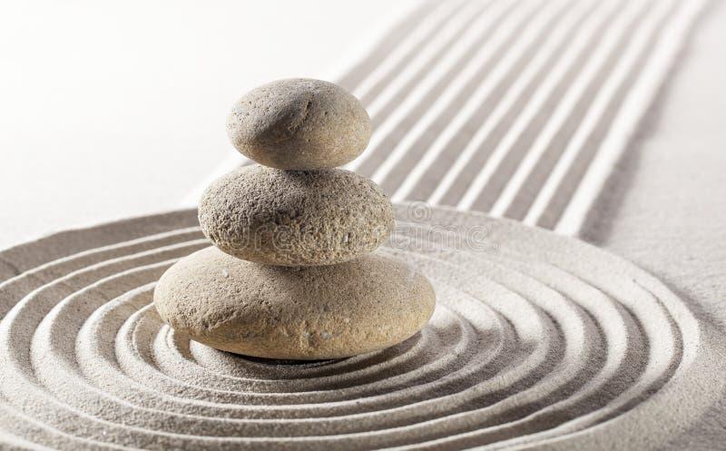Armonia di zen per bellezza interna fotografia stock