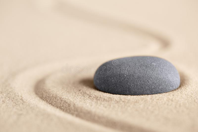 Armonia ed equilibrio dell'equilibrio che creano uguaglianza immagine stock