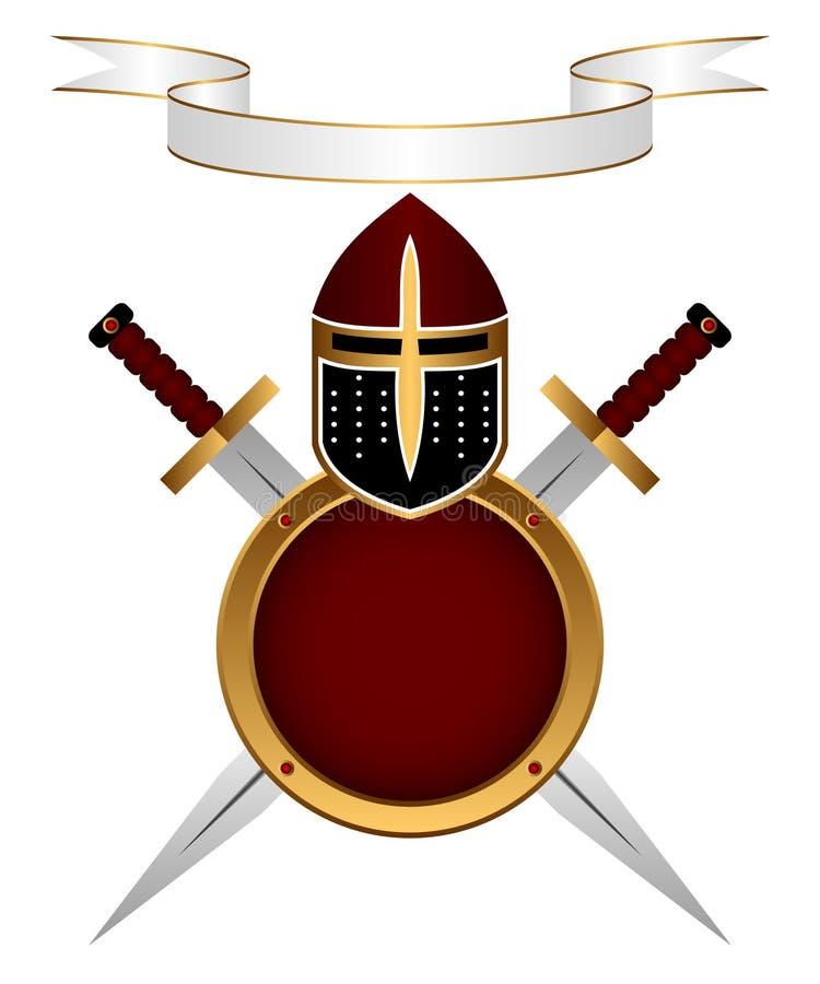 Armor knight. vector illustration