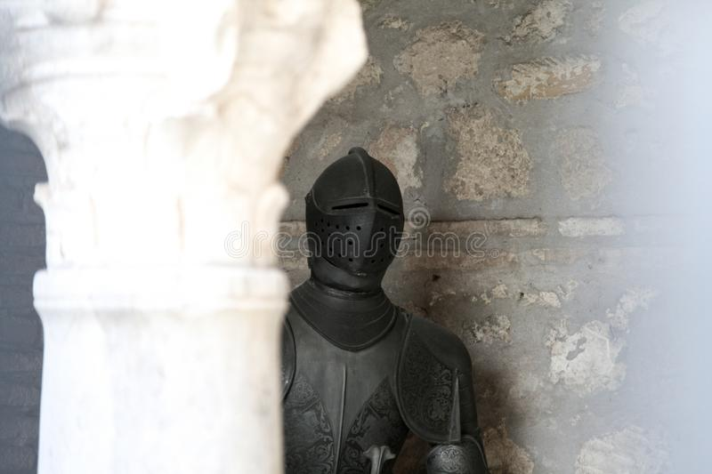 Armor of a knight royalty free stock photos