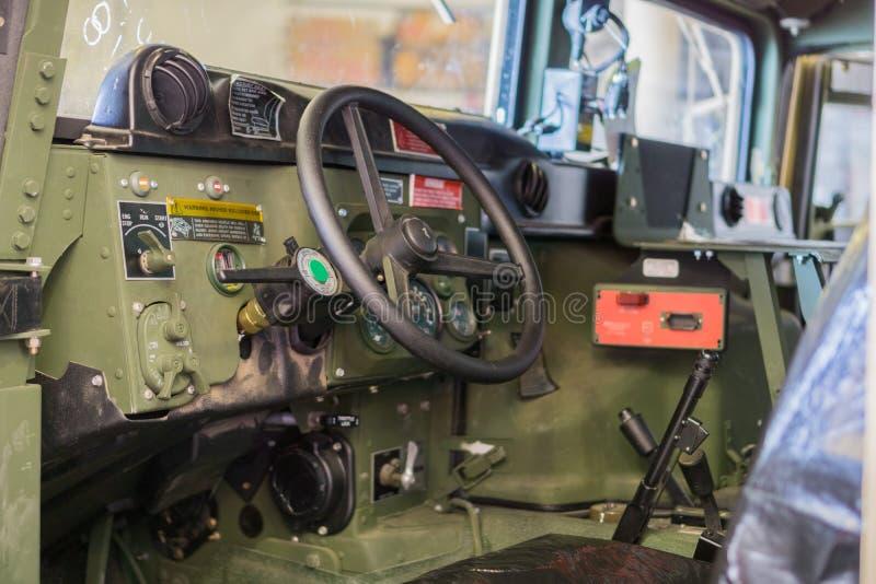 armored военное транспортное средство стоковое изображение rf