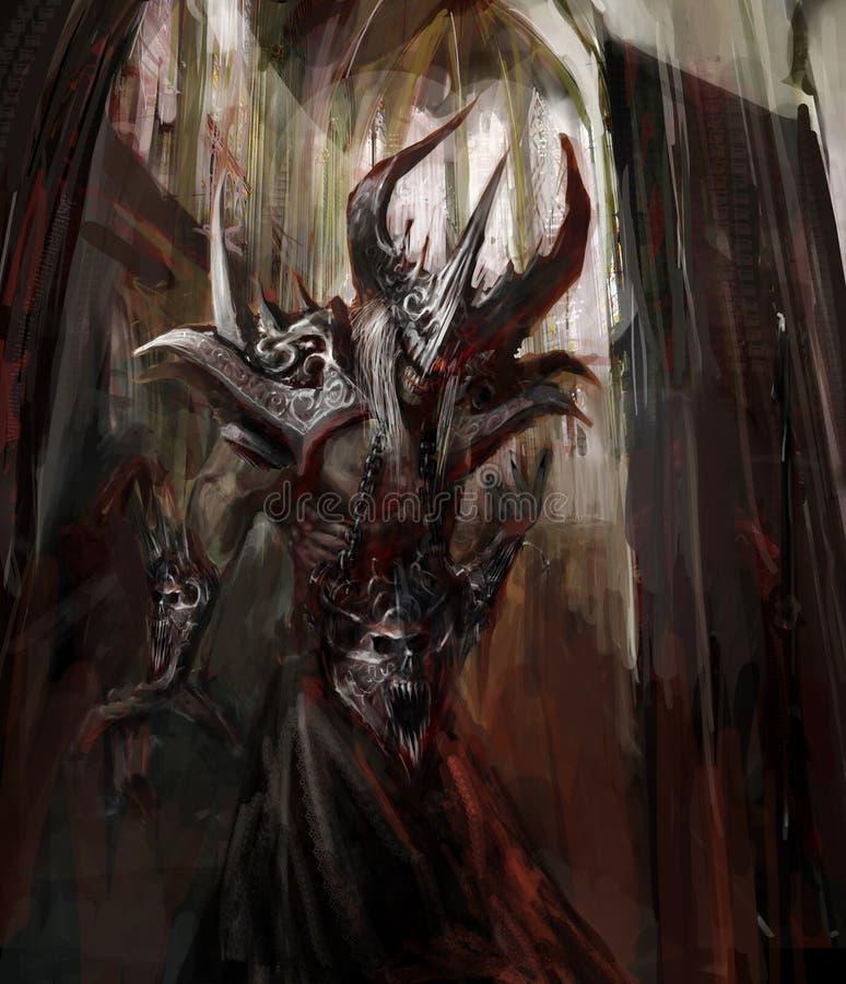 Armored зло бесплатная иллюстрация