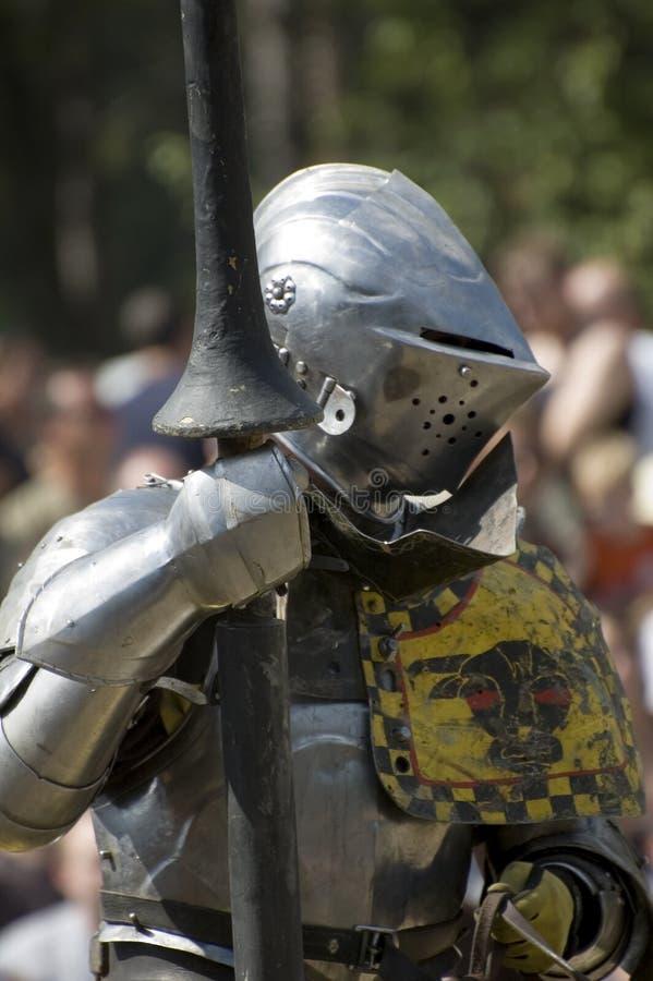 armored рыцарь стоковая фотография