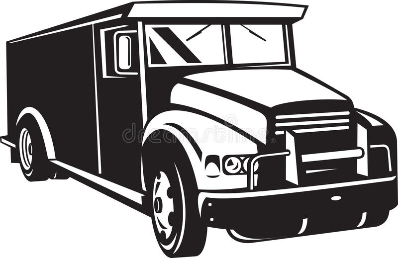 Download Armored Car Viewed From Front Stock Illustration - Illustration of front, isolated: 21476196
