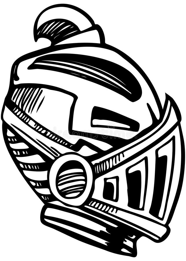 Download Armored Mask stock vector. Illustration of isolated, design - 14216518