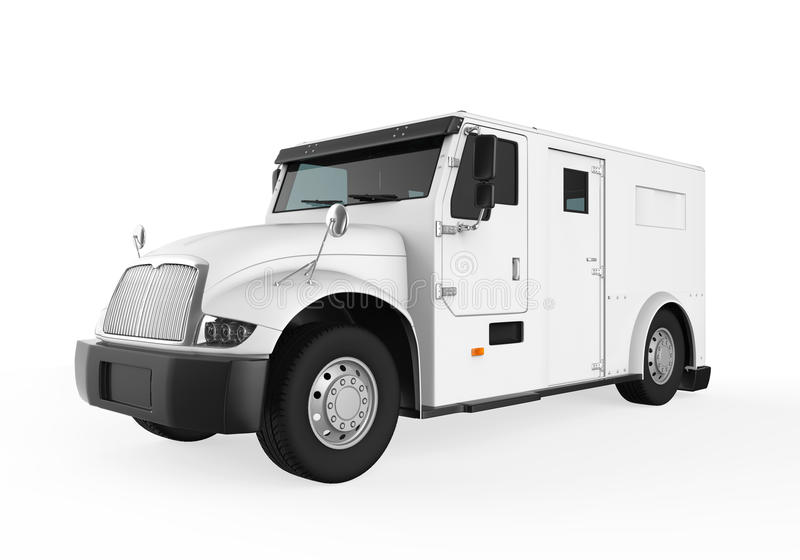 Armored Truck vector illustration