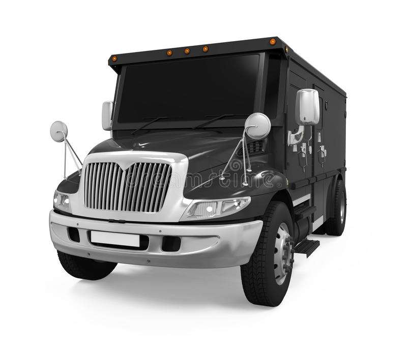 Armored Truck Isolated vector illustration