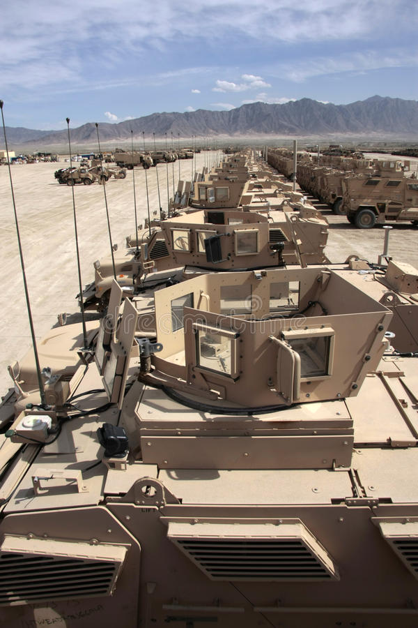 Download Armored Vehicles Ready For Issue In Afghanistan Editorial Stock Image - Image: 17683909