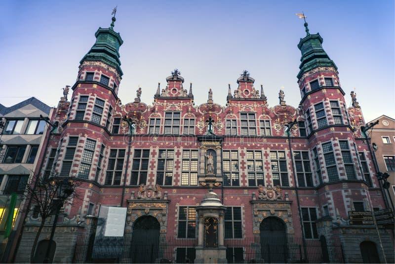 armory stora gdansk royaltyfria foton