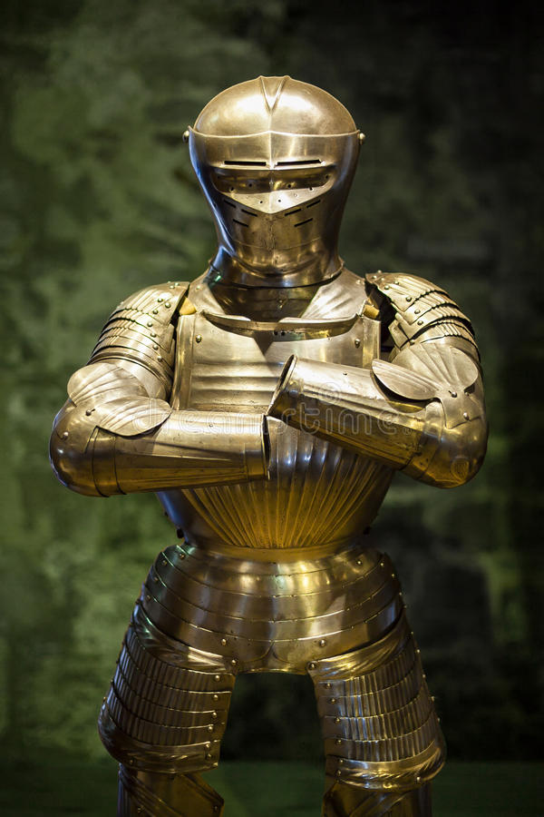 Armour from the Tower of London royalty free stock photo