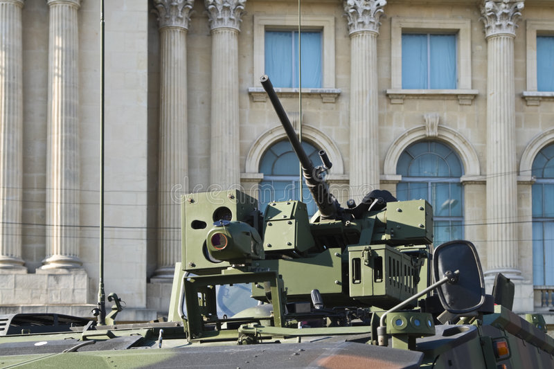 Download Armoured car stock photo. Image of cannon, architecture - 6901156